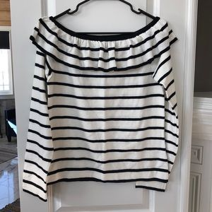 NWT JCrew Off-the-Shoulder Sweater.